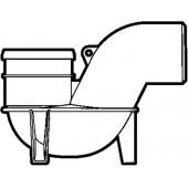 110mm U/G - Low Level P Trap Gully