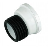110mm Offset WC Pan Connector White