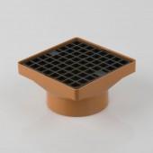 110mm U/G - Square hopper with grid