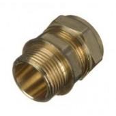 Compression - Coupler 15mm x 1/2